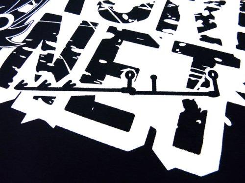 他の写真1: あおりねっとオリジナルTシャツ(エギ&ヤエンバージョン) ネイビー【メール便だと送料90円】