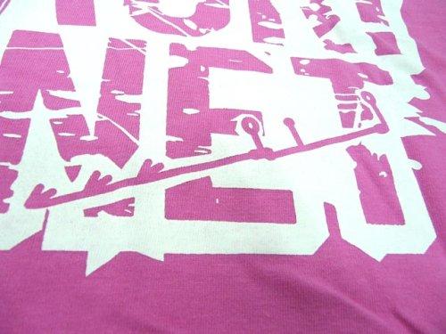 他の写真1: あおりねっとオリジナルTシャツ(エギ&ヤエンバージョン) ピンク【メール便だと送料90円】