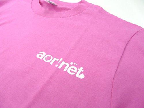 他の写真3: あおりねっとオリジナルTシャツ(エギ&ヤエンバージョン) ピンク【メール便だと送料90円】