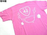 あおりねっとオリジナルTシャツ(煽道紀伊半島バージョン) ピンク【メール便だと送料90円】