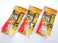 ささめ針☆特選SL エアーシンカー(ピンク)【メール便だと送料90円】