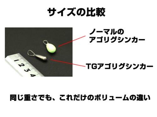 他の写真1: ダイワ(DAIWA)☆TGアゴリグシンカー 5g【ネコポスだと送料220円】