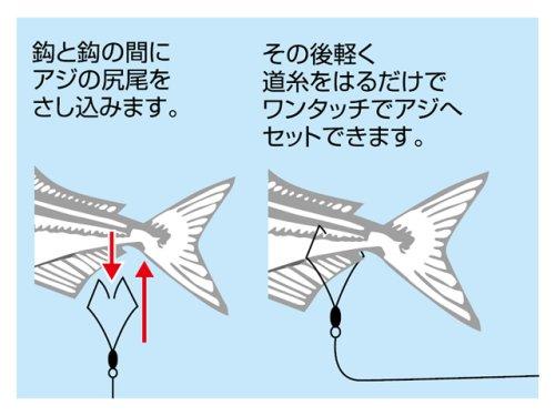 他の写真1: カツイチ(KATSUICHI)☆ワンタッチV尾バリ M【メール便だと送料90円】