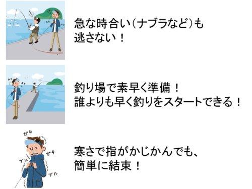 他の写真2: デュエル(DUEL) ヨーヅリ(YOZURI)☆クイックリーダー(Quick Leader) スナップ付 1.5号【ネコポスだと送料220円】