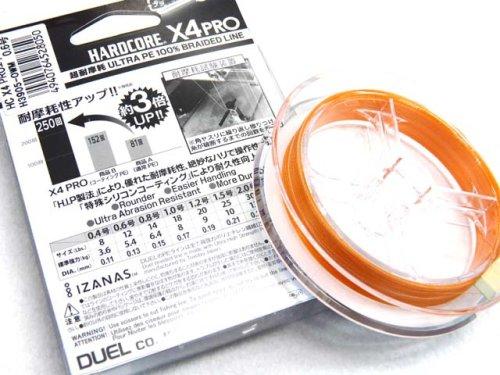他の写真1: デュエル(DUEL)☆ハードコア(HARDCORE) X4プロ エギング 150m【ネコポスだと送料220円】