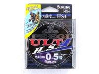 サンライン(SUNLINE)☆ソルティメイト(SaltiMate) PE EGI ULT HS4 0.5号 240m【ネコポスだと送料190円】