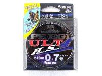 サンライン(SUNLINE)☆ソルティメイト(SaltiMate) PE EGI ULT HS4 0.7号 240m【ネコポスだと送料190円】