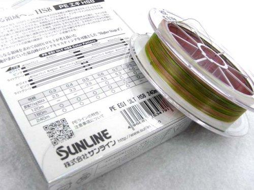 他の写真1: サンライン(SUNLINE)☆ソルティメイト(SaltiMate) PE EGI ULT HS8 0.7号 240m【北・沖 除き送料無料】