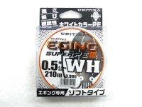 ユニチカ(UNITIKA)☆キャスライン エギングスーパーPE3 WH 210m 0.5号【ネコポスだと送料220円】