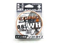 ユニチカ(UNITIKA)☆キャスライン エギングスーパーPE3 WH 210m 0.6号【ネコポスだと送料190円】