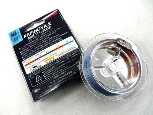 他の写真1: ラパラ(Rapala)☆ラピノヴァ・エックス マルチカラー(RAPINOVA-X MULTI-COLOR) 200m 0.4号【ネコポスだと送料220円】