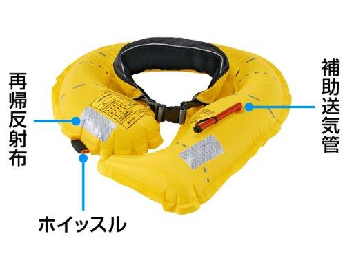 他の写真2: プロックス(PROX)☆自動膨脹式救命胴衣ウエストタイプ検定品【北・東北・沖 除き送料無料】