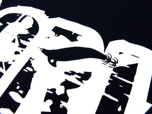 他の写真2: あおりねっとオリジナルTシャツ(エギ&ヤエンバージョン) ネイビー【メール便だと送料90円】