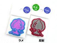 明光社☆ワッペンシール Jewel Mサイズ マジいか【ネコポスだと送料220円】