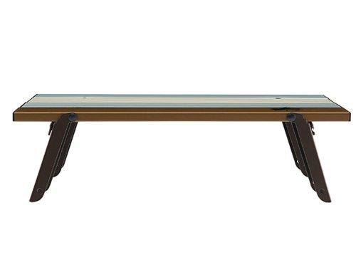 他の写真2: ロゴス(LOGOS)☆LOGOS Life ロール膳テーブル(ヴィンテージ)【送料590円(北・沖 除く)】