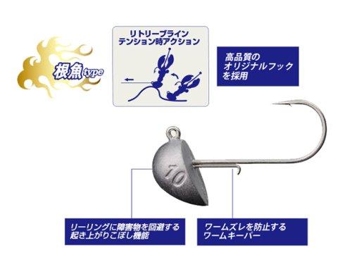 他の写真3: メジャークラフト(Major Craft)☆ジグパラヘッド ブン太(JIGPARA HEAD BUN太) JPBU-20g根魚【ネコポスだと送料220円】