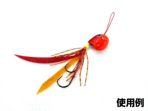 他の写真3: カイム(KaiM)☆バイプレーン(Cast Biplane) ヘッド 60g オレンジレッド【ネコポスだと送料220円】