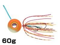 マルキユーECOGEAR☆TGアクラバヘッド クワセ 60g AH04:オレンジメタルグロウ【ネコポスだと送料190円】