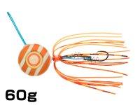 マルキユーECOGEAR☆TGアクラバヘッド クワセ 60g AH06:オレンジメタルグロウストライプ【ネコポスだと送料190円】