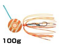 マルキユーECOGEAR☆TGアクラバヘッド クワセ 100g AH06:オレンジメタルグロウストライプ【ネコポスだと送料190円】
