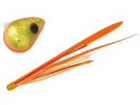 ジャッカル(JACKALL)☆爆流 鉛式ビンビン玉スライド 130g オレンジゴールド/蛍光オレンジ T+【ネコポスだと送料220円】