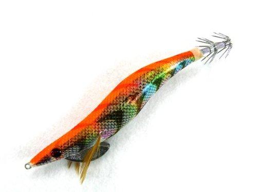 他の写真3: GLORY FISH☆エギ ライド ラトル(EGI RIDE RATTLE) 4.0号 オレンジマーブル【ネコポスだと送料220円】