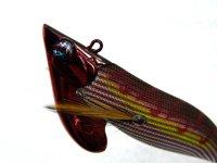 ダイワ(DAIWA)☆エメラルダス(Emeraldas) ボート2 RV 3.5号50g RV-1 赤-縞ブラウン【メール便だと送料90円】